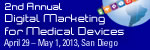 2nd Digital Marketing for Medical Devices West
